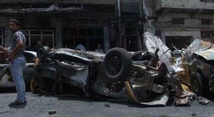 قتلى وجرحى في انفجار سيارة مفخخة جنوب بغداد