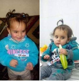 """بالصور  ..  """"هشموا جسدها بصخرة""""  ..  جريمة تهز سوريا و الضحية طفلة رضيعة فُقدت منذ يومين  ..  تفاصيل مؤثرة"""