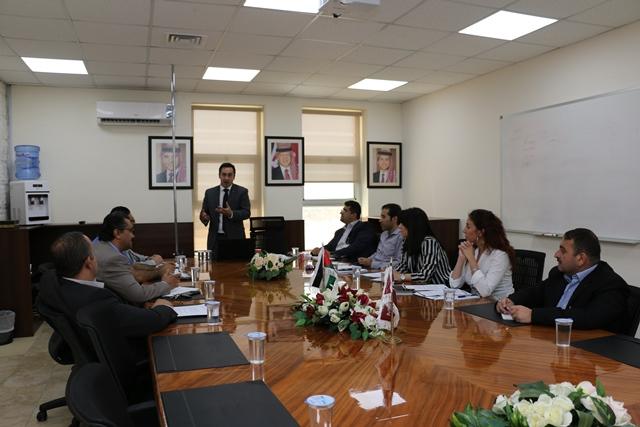 جامعة الشرق الأوسط تنظم محاضرة حول التبادل الافتراضي  لمشاريع ايراسموس بلس
