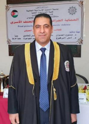 أحمد العدوان .. مبارك الماجستير