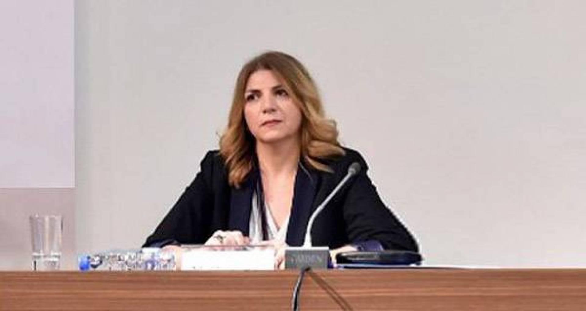استقالة وزيرة العدل اللبنانية ماري كلود ..  تفاصيل