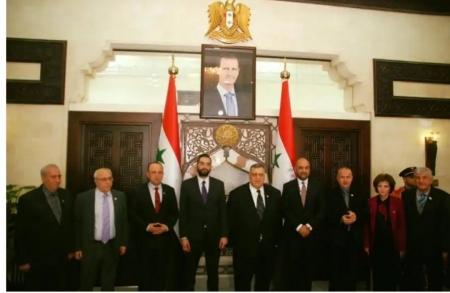 رئيس مجلس الشعب السوري يعد بحل سريع لازمة السجناء الاردنيين