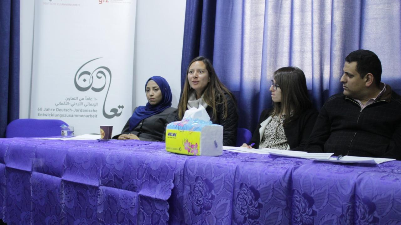 (فعالية حوارية وأنشطة تفاعلية في مدينة الزرقاء بمناسبة اليوم العالمي لحقوق للطفل )