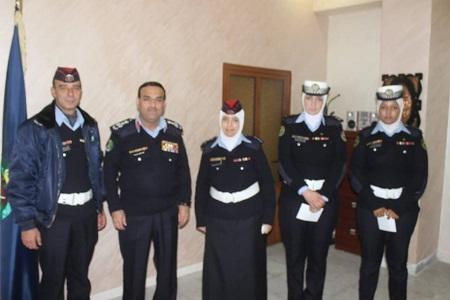 شرطيات يحبطن سرقة محل في إربد