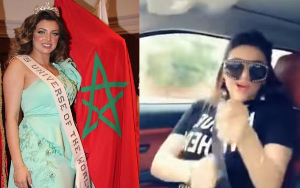"""بالفيديو  ..  ملكة جمال المغرب تدهس طفلين وهي """"مخمورة"""" و تتسبب بمقتلهما"""