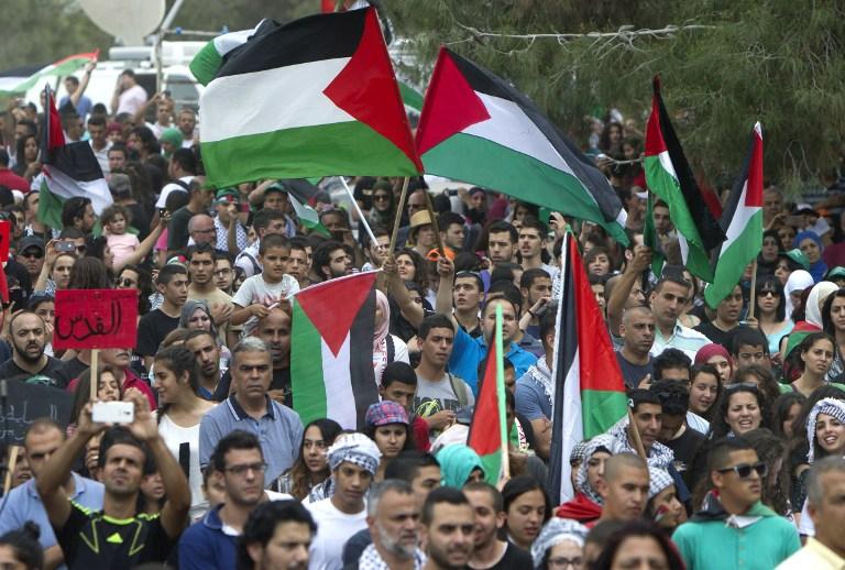مسيرات وسط غزة لرفض ممارسات الاحتلال