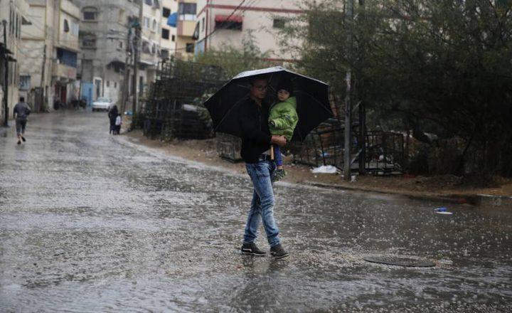 أجواء باردة وفرصة لتساقط الامطار وتحذير من الصقيع والانزلاقات