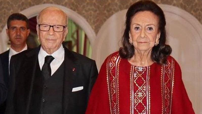 """في يوم الانتخابات  ..  وفاة ارملة الرئيس التونسي الراحل """"السبسي"""""""