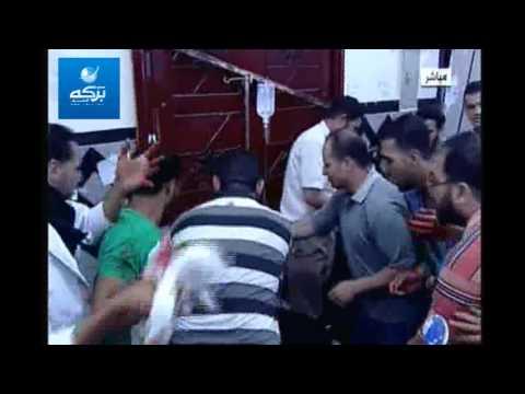 بالفيديو ... اول حالة وفاة من مسيرة شبرا الى رابعة امام الكاميرات رغم محاولات اسعافه- لا اله الا الله
