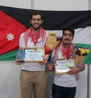 أردنيان في المركز الأول بمسابقة روبوتات دولية