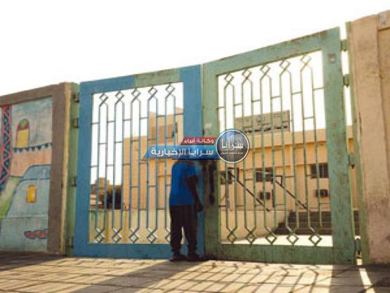 سقوط بوابة على طالب داخل مدرسته في الزرقاء