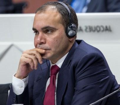 """الأمير علي : التصويت على اسقلالية لجان الفيفا """" خيانة """""""