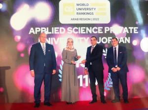 التطبيقية الخاصة ضمن أفضل 101-110 جامعة عربية