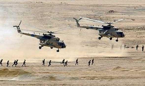 """انزال جوي امريكي على طريق عمان / بغداد لمنع تسلل """"داعش"""""""