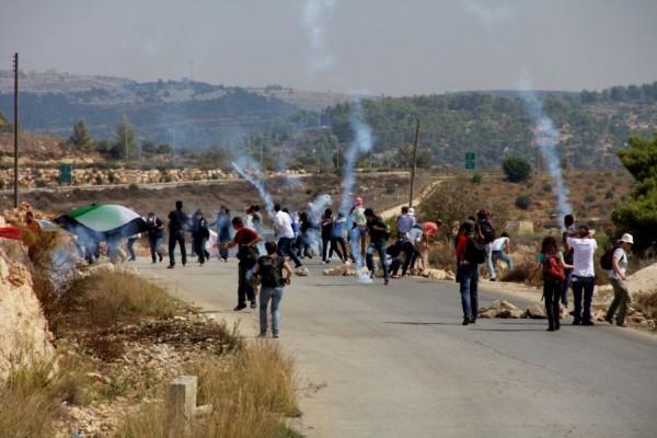 إصابة شابين واعتقال آخر في مواجهات مع الاحتلال ببيت لحم