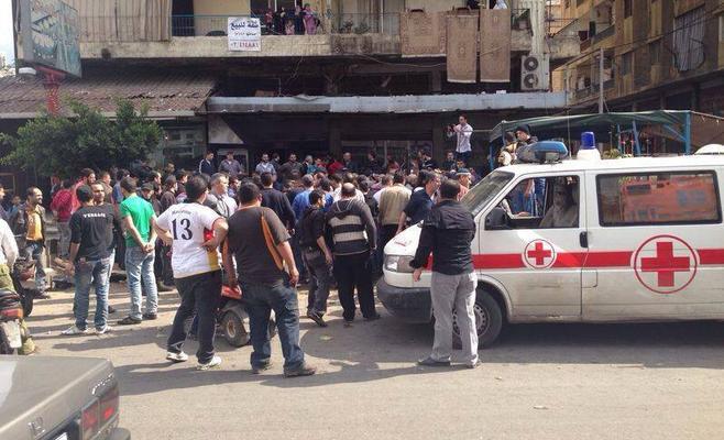 لبنان : انتحاريان يقتلان 7 بمقهى في جبل محسن.. والنصرة تتبنى الهجوم