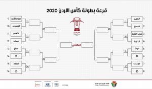 سحب قرعة كأس الأردن 2020