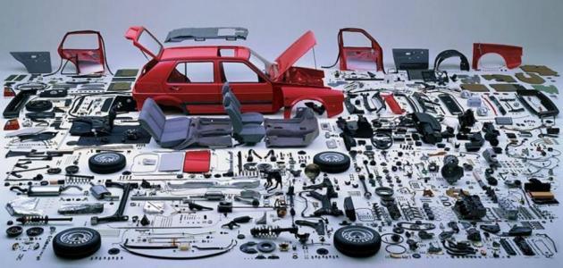 تعرف على الاجزاء الرئيسية لمكونات السيارة