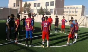 إقامة بطولة كرة قدم للشباب الناشئين في فقوع بالكرك .. صور