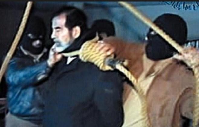 بالفيديو  ..  الكشف عن رسالة مثيرة بعثها صدام حسين من السجن