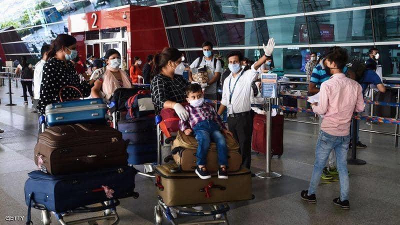 الهند تستأنف الرحلات الجوية الداخلية رغم تسجيل أكثر من مليون و 380 ألف اصابة بفيروس كورونا