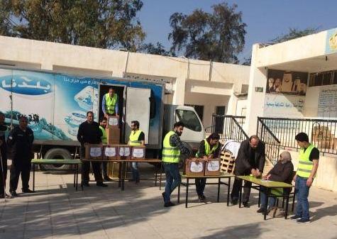 استمرار حملات الشتاء التي تنظمها جامعة عمان الأهلية
