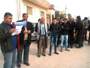 """حراك لواء فقوع في جمعة """" الشعب يعيش بين كذب الحكومة وجعجعة النواب """""""