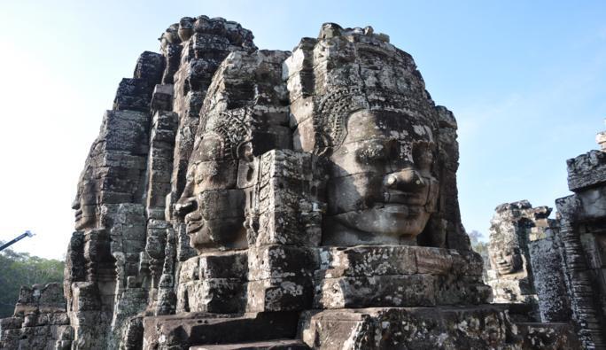 أنكور فى كمبوديا ..  مدينة تختصر آثار العالم داخل معابدها .. صور