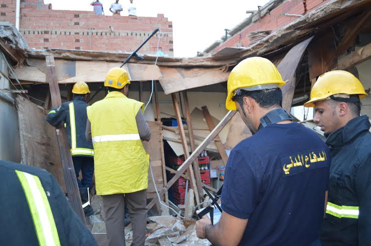 مصرع شخص وإصابة آخر في انهيار محل شعبي جنوب جدة