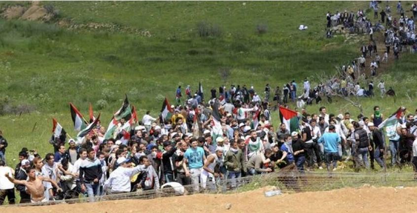 مسيرات العودة في غزة مستمرة بجمعتها الـ66