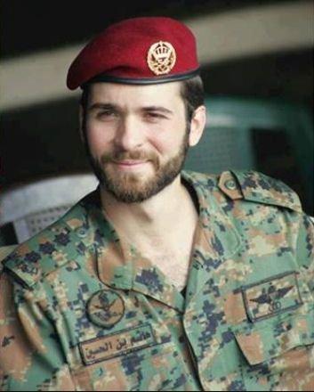 مندوبا عن الملك الأمير هاشم يحضر افتتاح مسجد في الشيشان