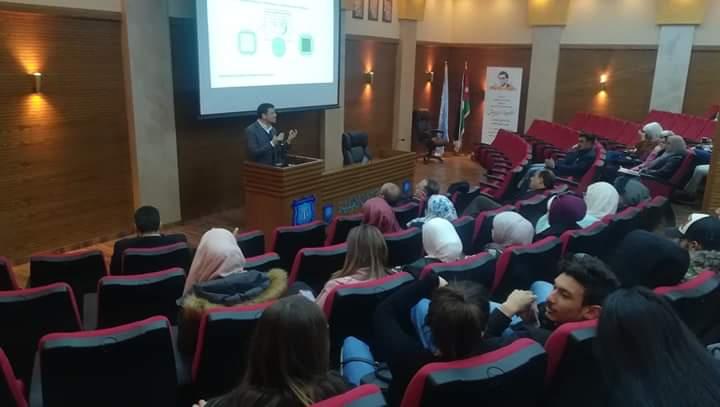 ورشة عمل حول المعينات السمعية في جامعة عمان الاهلية