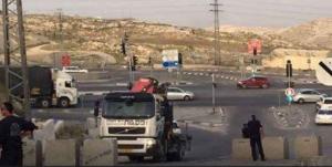الاحتلال يغلق كافة مداخل قرية حوسان غرب بيت لحم