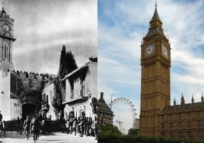 """قلب ساعة """"بيج بين"""" ..  حتى رمز بريطانيا مسروق من فلسطين!"""