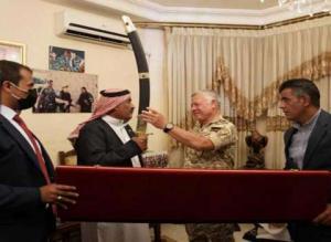 """الفريق الشوبكي يروي """"لماذا ضحك"""" الملك في منزله و ما هي البشرى التي سيزفها قريباً للأردنيين؟"""