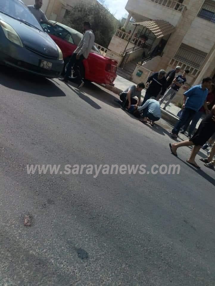 بالصور  ..  اربد: وفاة طفل أثر سقوطه من الطابق الرابع في الحي الشرقي