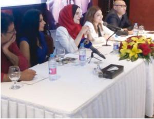 مؤتمر صحفي لإطلاق المسرحية الرمضانية «سارحة والرب راعيها»