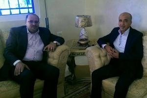 العميد أحمد بيك الصمادي  مبارك آداء فريضة الحج و الحمد لله على السلامة