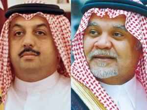 مصدر سعودي يكذب تصريحات منسوبة للأمير بندر عن قطر