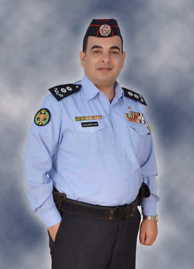 الملازم محمد زيتون بني خالد مبارك الترفيع