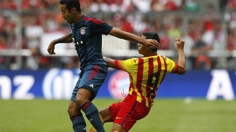 فيديو : البايرن يهزم برشلونة ودياً