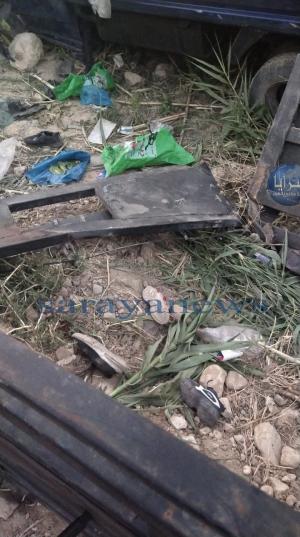وفاة 5 اطفال واصابة 14 شخصا بتدهور شاحنة في عمّان  .. صور