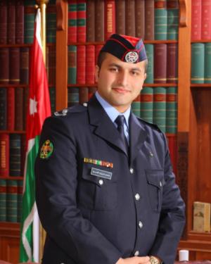 """مبارك ل""""الملازم احمد العمري""""  بمناسبة التخرج"""