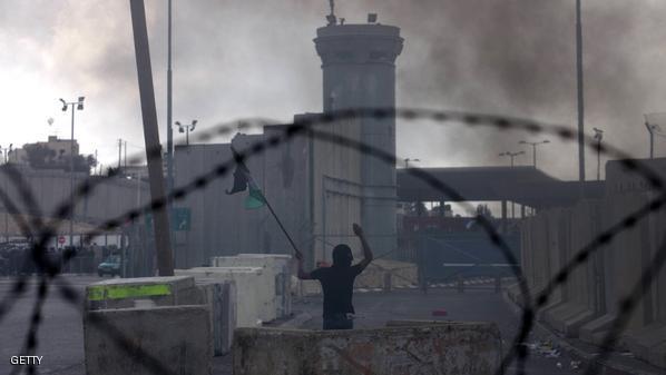 """إصابة فلسطينيين بمواجهات في """"بلعين"""""""
