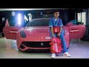 فيديو : لم يتجاوز الـ15 من عمره ويمتلك سيارة بربع مليون دولار!