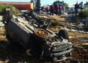 وفاة 5 فلسطينيين من خانيونس بحادث سير في السعودية