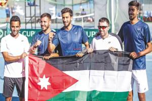 منتخب التنس يبقى بالمستوى الآسيوي الثالث