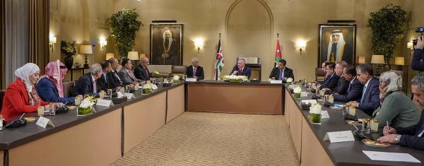الملك يلتقي رئيس وأعضاء كتلة مبادرة النيابية