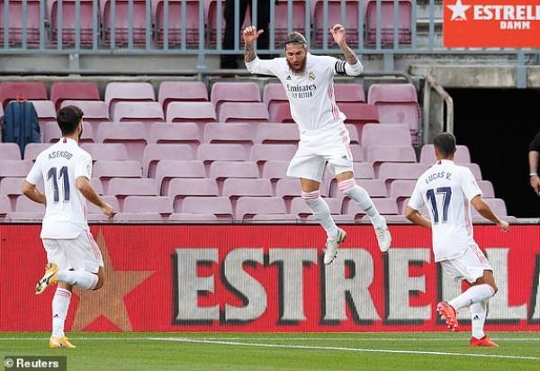 ريال مدريد يقهر برشلونة بثلاثية