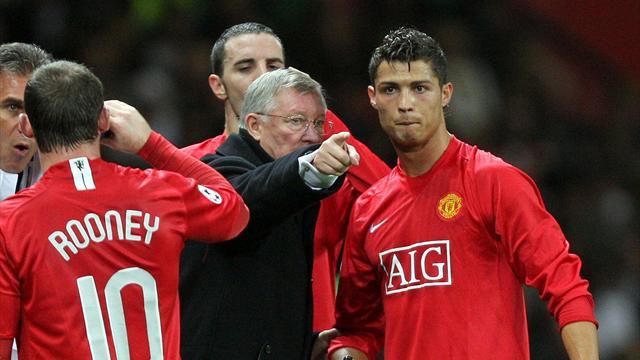 فيرغسون يعترف: رونالدو مدريد أفضل من رونالدو مانشستر